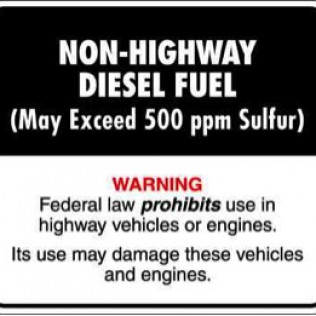 Off Road Diesel Fuel